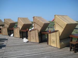 Strandkörbe in St. Peter-Ording Quelle: eigenes Bildmaterial