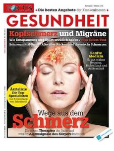 Quelle: FOCUS Gesundheit, September/Oktober 2014