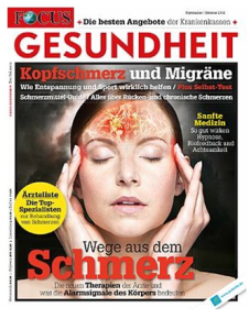 Quelle: FOCUS Gesundheit, September/Oktober 2014
