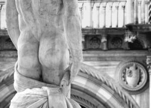 Schmerzen im Gesäß Quelle: Franziska Kleinschmidt, pixelio.de